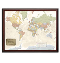 World Traveler Map Set