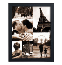 7 Photo Collage Canvas Unframed