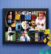 9 Photo Collage Canvas Unframed