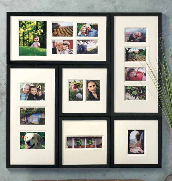 Modular Photo Wall Frame Collection
