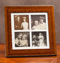 Gifts for the Italian Enthusiast - Aldo Marquetry Frame Quad 3x3