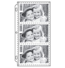 Photo Album Pages - 4 x 6 Slim Pocket Pages - Set Of 10