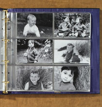 Photo Album Pages - Oversize 4 x 6 Photo Pocket Pages - Set Of 10
