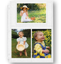 Photo Album Pages - Double Weight 4 x 6 Photo Pocket Pages - Set Of 10