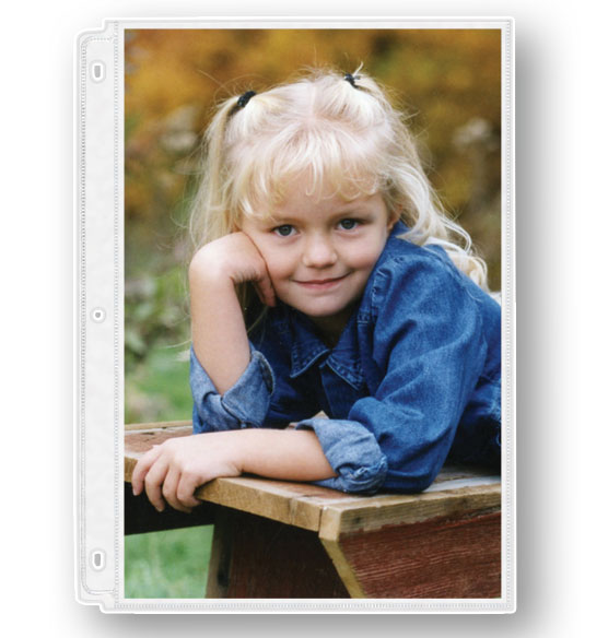 "Photo Album Pages – Double-Weight 8"" x 10"" Photo Pages"