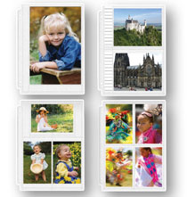 Album Pages - Double Weight Assorted Photo Pocket Pages