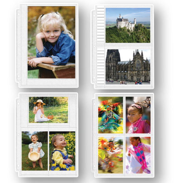 Photo Album Pages – Double-Weight Assorted Photo Pages