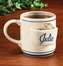 Entertaining for Him - Personalized Tea Bag Mug