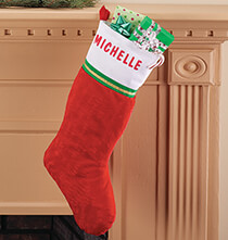 Holiday Décor - Personalized Christmas Stocking