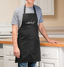 Entertaining for Him - Personalized Chef Apron