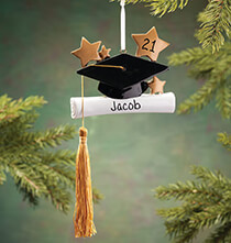 Personalized Graduation Ornament