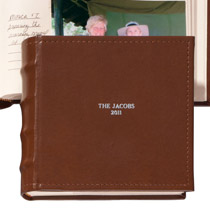 Scrapbooks & Memo Albums - Personalized Shelbourne  Memo Photo Album - Small