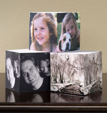 Gifts for Grandparents - Custom Photo Sticky Note Cube