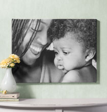 Gifts Under $50 - 8x10 Custom Photo Canvas