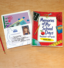 Books & Education - Personalized School Days Book