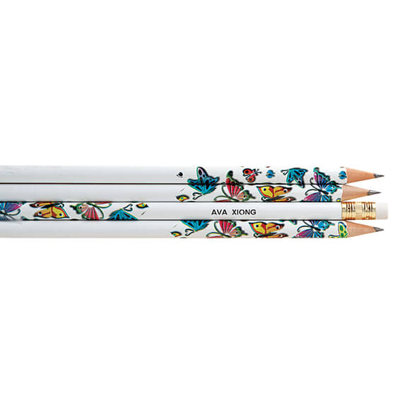 Personalized Butterfly Pencils, Set of 12