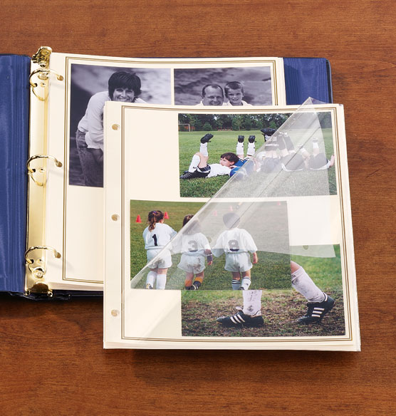3-ring Photo Pages - Premium Sheet Protectors