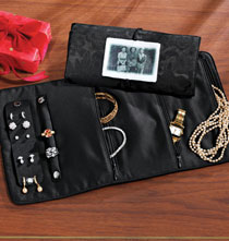 Gifts for the Traveler - Personalized/Custom Photo Jewelry Organizer