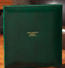 Platinum Leather Albums - Charter Extra Capacity Personalized Photo Album