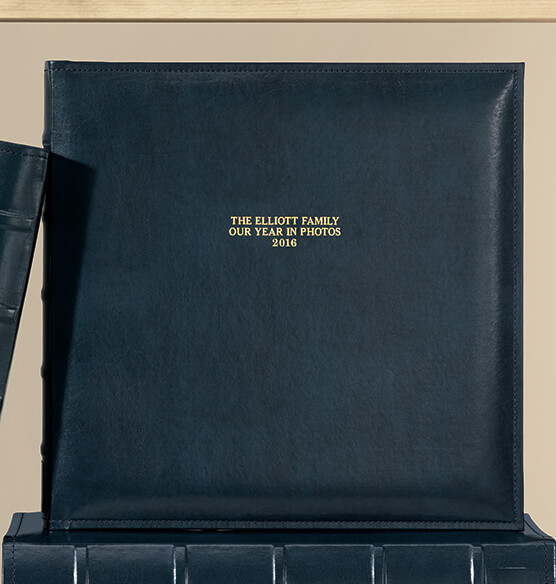 Personalized Charter Memo Album