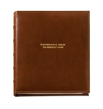 Platinum Leather Albums - Personalized Charter Oversized Album