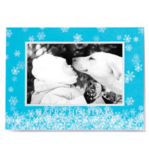 Magical Snowfall Photo Christmas Card Set of 18
