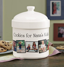 Photo Décor & Gifts - Personalized Photo Cookie Jar