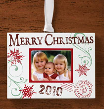 2010 Stamped Memories Ornament