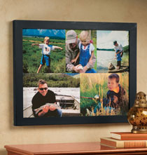 Gifts for the Photo Lover - Custom 5 Photo Collage Canvas - 18 x 24 Unframed