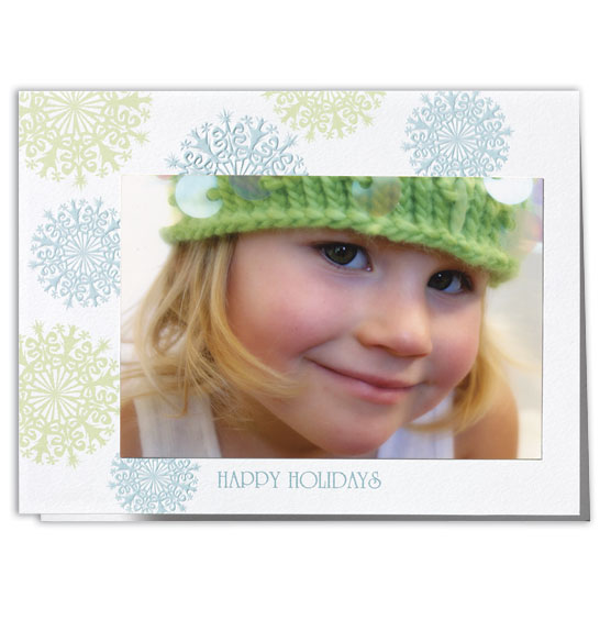Festive Flurry Photo Christmas Card Set of 18