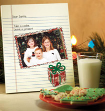 Cookies for Santa Frame