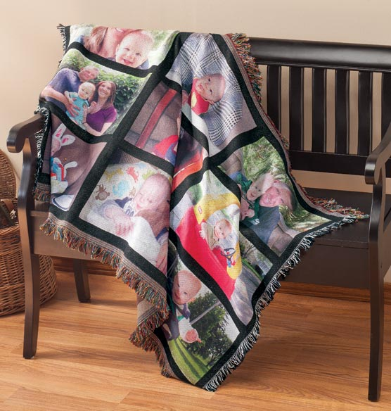 Custom Picture Blanket - View 1