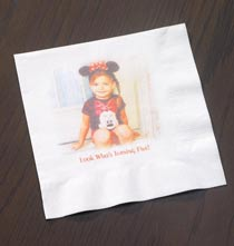 Photo Décor & Gifts - Custom Photo Napkins - Luncheon Set Of 20