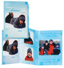 * Snowflakes Collage Card Set of 20