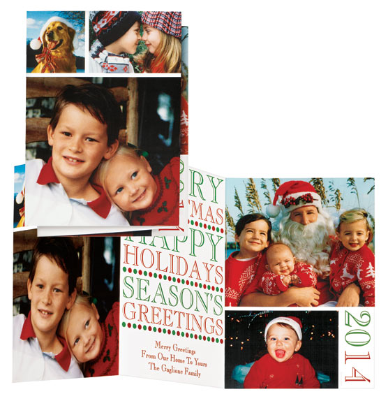 * Greetings & Sentiments Collage Card Set of 20