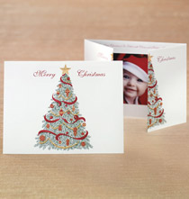 Christmas Traditions Photo Christmas Card Set of 18