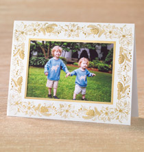 Elegant Touch Photo Christmas Card Set of 18