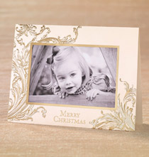 Photo Insert Cards - Christmas Memories Photo Christmas Card Set of 18