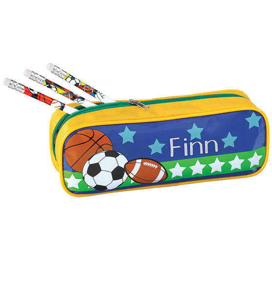 Personalized All-Star Sports Pencil Case  & Pencil Set