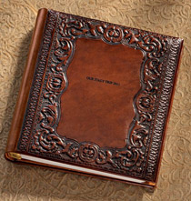 Toscano Leather Photo Album