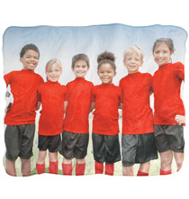 Luxury Fleece Photo Throw