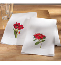 Botanical Guest Towels - Set of 2