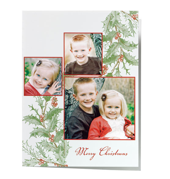 * Nostalgic Holly Collage Card Set of 20
