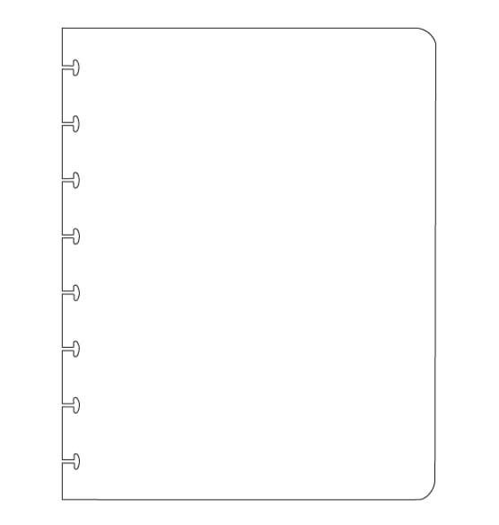 Myndology® Blank Journal Refill, 60 Sheets