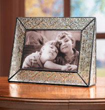 Victorian Glass Picture Frame