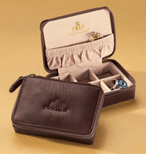 Leather Mini Jewelry Case