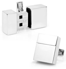 Functional 2 GB USB Cufflinks