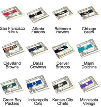 NFL  Team Money Clip