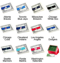 MLB Team Money Clip