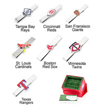 MLB Team Tie Bar
